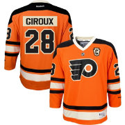 Reebok Youth Philadelphia Flyers Claude Giroux #28 Replica Third Jersey