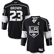 Reebok Youth Los Angeles Kings Dustin Brown #23 Replica Home Jersey