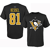 Reebok Youth Pittsburgh Penguins Phil Kessel #81 Replica Home Player T-Shirt