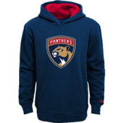 Reebok Youth Florida Panthers Navy Prime Pullover Hoodie