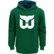 Reebok Youth Hartford Whalers Green Prime Pullover Hoodie