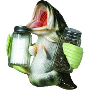 Rivers Edge Bass Salt and Pepper Shaker Set