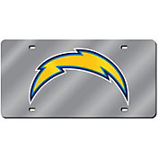 Rico San Diego Chargers Silver Laser Tag License Plate