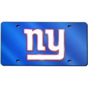 Rico New York Giants Blue Laser Tag License Plate