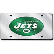 Rico New York Jets Silver Laser Tag License Plate