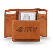 Rico NFL Carolina Panthers Embossed Tri-Fold Wallet