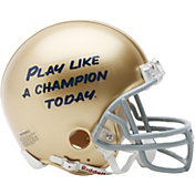 Riddell Notre Dame Fighting Irish ''Play Like A Champion Today'' VSR4 Mini Football Helmet