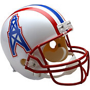 Riddell Houston Oilers VSR4 Deluxe Throwback '81 – '96 Full-Size Football Helmet