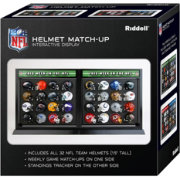 Riddell NFL Helmet Match Up Display