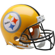 Riddell Pittsburgh Steelers Alternate Gold Mini Helmet