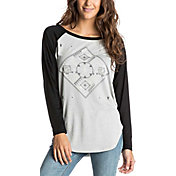 Roxy Women's Naminori Pointilliam Raglan Long Sleeve Shirt