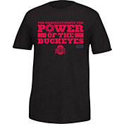 Ohio State Buckeyes Men's Star Wars 'Power of the Mascot' Black T-Shirt