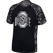Scarlet & Gray Men's Ohio State Buckeyes Gray X-Factor T-Shirt