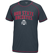 Scarlet & Gray Men's Ohio State Buckeyes Gray The Force T-Shirt