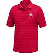 Scarlet & Gray Men's Ohio State Buckeyes Scarlet Linebacker Polo