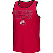 Scarlet & Gray Men's Ohio State Buckeyes Scarlet Timeout Tank Top