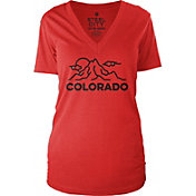Steel City Cotton Works Women's Camp Colorado T-Shirt