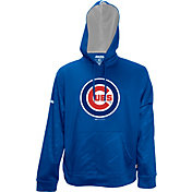 Stitches Men's Chicago Cubs Pullover Royal Hoodie
