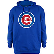 Stitches Men's Chicago Cubs Royal Pullover Hoodie