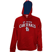Stitches Men's St. Louis Cardinals Pullover Red Hoodie