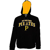 Stitches Men's Pittsburgh Pirates Pullover Black Hoodie