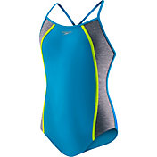 Speedo Girls' Heather Spice Swimsuit