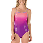 Speedo Women's Color Fusion Thin Strap Swimsuit