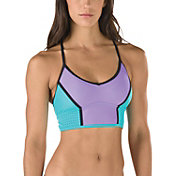 Speedo Women's Lasercut Crop Y Back Swimsuit Top