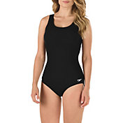 Speedo Women's Solid Ultraback Moderate Swimsuit