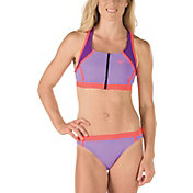 Speedo Women's Perforated Racerback 2-Piece Swimsuit