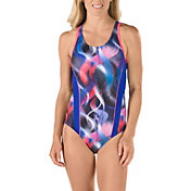 Speedo Women's Power Prism Racer Back Swimsuit