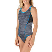 Speedo Women's Texture Double Strap Swimsuit