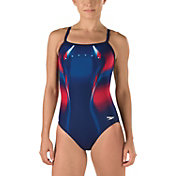 Speedo Women's Warp Drill Back Swimsuit