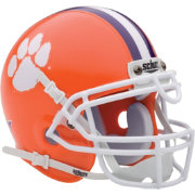 Schutt Clemson Tigers Mini Authentic Football Helmet