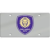 Stockdale Orlando City Logo Acrylic Mirror License Plate