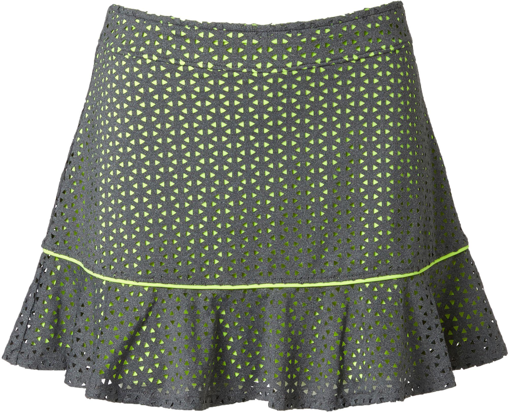 Slazenger Girls Layered Perforated Ruffle Knit Golf Skort DICKS Sporting Goods