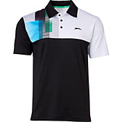 Slazenger Men's Contender Overlay Colorblock Golf Polo