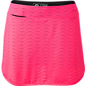 Slazenger Women's Impulse Perforated Solid Golf Skort