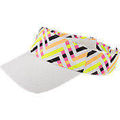 Slazenger Women's Impulse Stripe Golf Visor