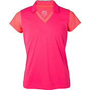 Slazenger Girls' Dotted Golf Polo