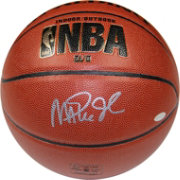 Steiner Los Angles Lakers Magic Johnson Signed Basketball