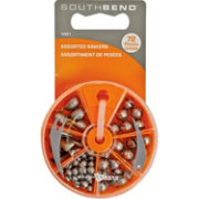 South Bend Sinker Assortment – 72 Piece