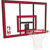 "Spalding 44"" Polycarbonate Backboard and Slam Jam Rim Combo"