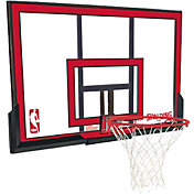 "Spalding 48"" Polycarbonate Backboard and Slam Jam Rim Combo"