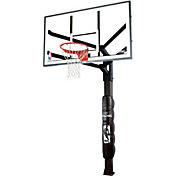 "Spalding 72"" Glass Arena View H Series Basketball Hoop"