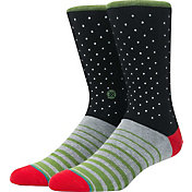 Stance Diamonds Dancing Crew Socks