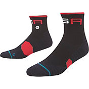 Stance Men's Ryder Quarter Golf Socks