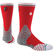 Stance Portland Trail Blazers On Court Logo Crew Socks