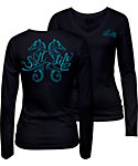 Salt Life Women's Seahorse Daze Long Sleeve Shirt