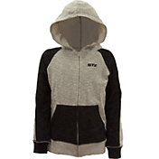 STX Little Boys' Textured French Terry Full-Zip Hoodie